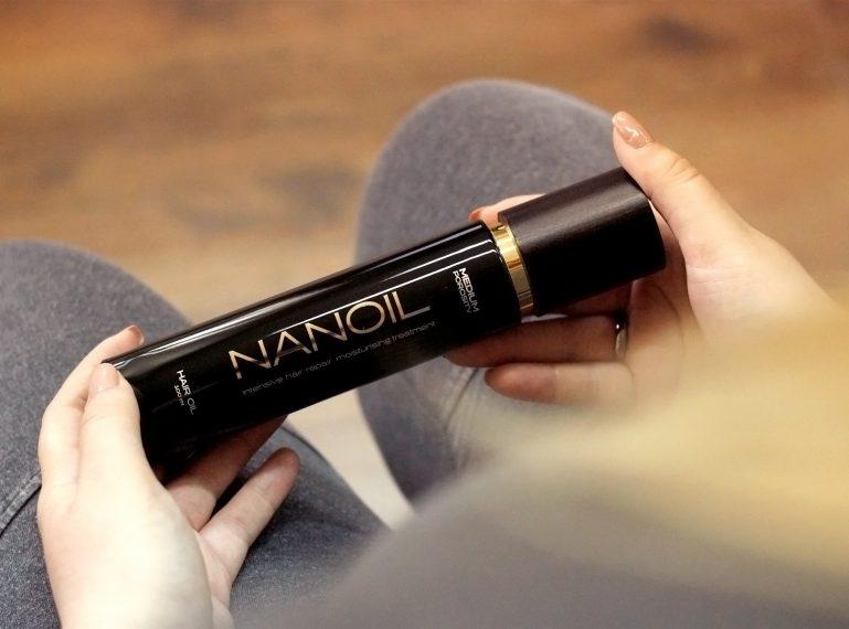 Recenzja olejku Nanoil. Postaw swoje włosy na nogi