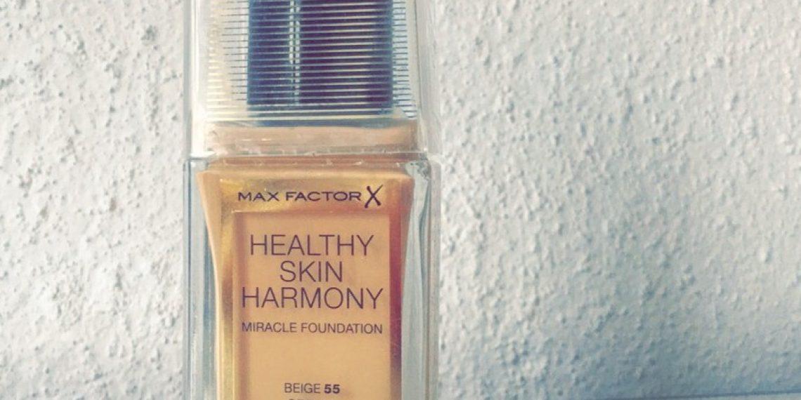 Hit czy kit? Podkład Healthy Skin Harmony Miracle od Max Factor